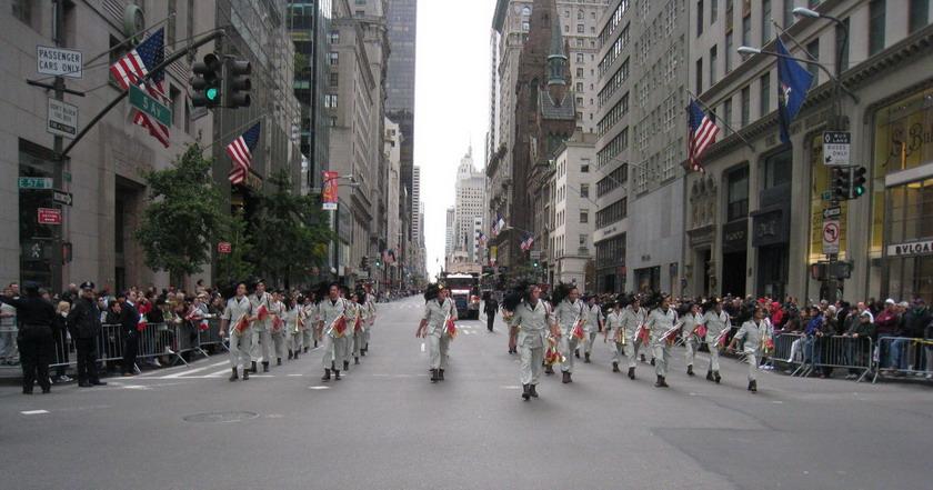 La Fanfara al Columbus Day a NEW YORK